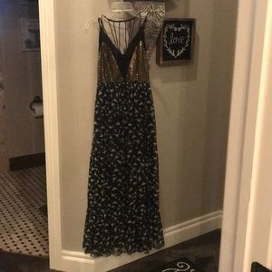 Floral maxi with embellishments